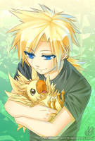 Baby Chocobo by BloodlineV