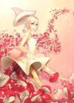 Young Lady Mushroom