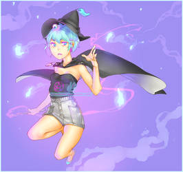 Steaming Blue Peppers by BloodlineV