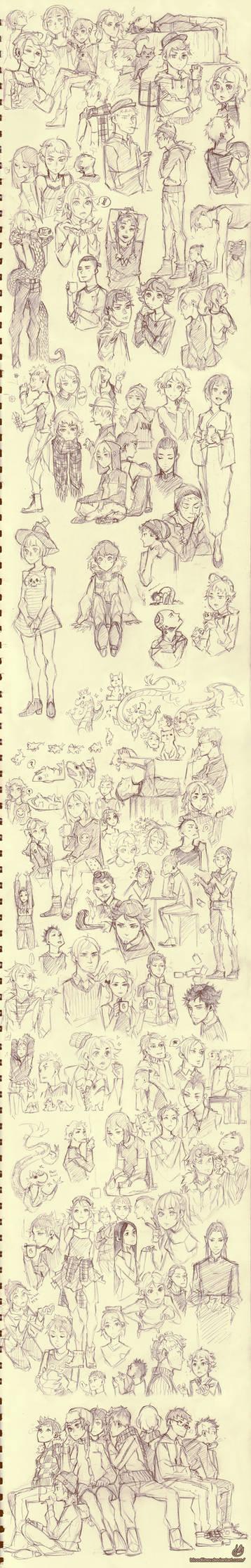 fifty shades of sketchdump