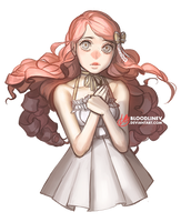 The shy one by BloodlineV