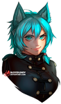 Teal by BloodlineV