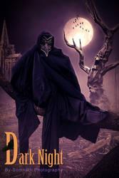 Dark night crow By Somnath_Photography
