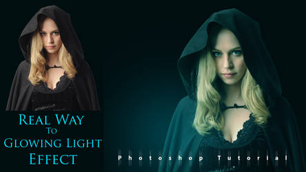 How To Create Real Way To Glowing Light Effect in