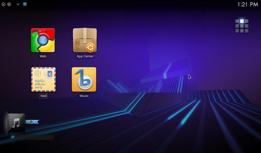 Ubuntu Desktop Remodeled by aeounity