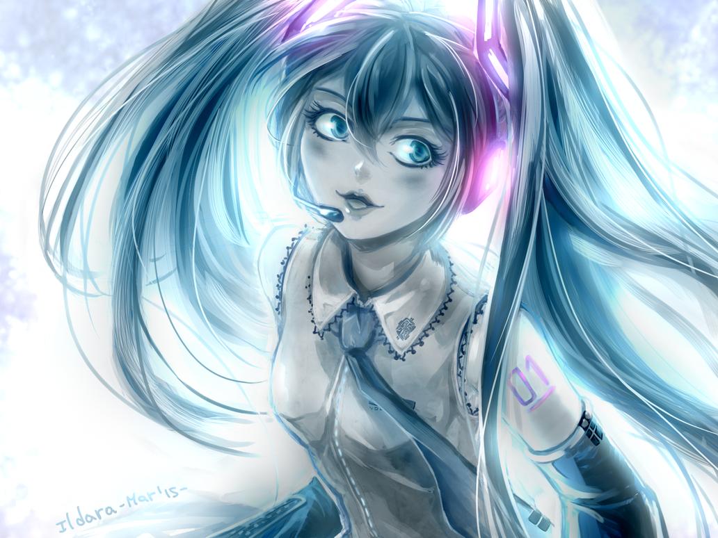 Hatsune Miku by IldaraLoreth