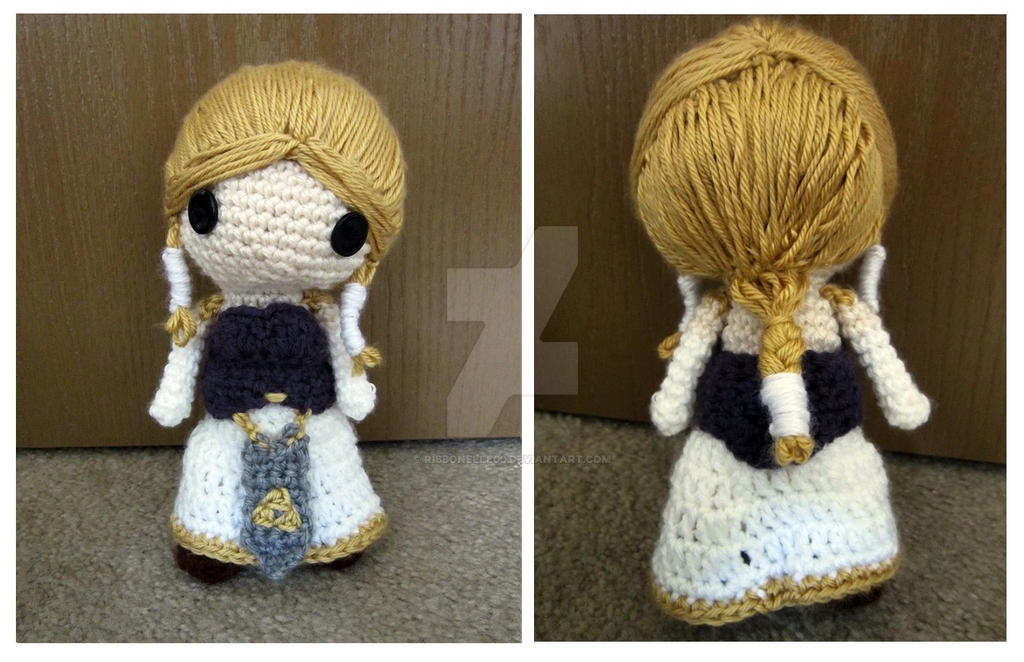 Amigurumi Zelda Patron : Legend of Zelda: Princess Zelda Amigurumi by ribbonelle00 ...