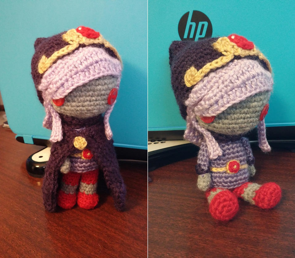 Legend of Zelda Amigurumi: Sorcerer Vaati by ribbonelle00 ...
