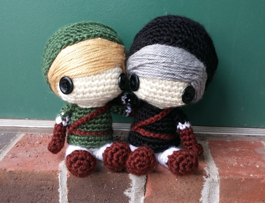 Amigurumi Zelda Patron : Legend of Zelda Amigurumi: Link and Dark Link by ...