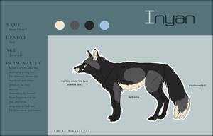 Inyan - Charactersheet by Singarl
