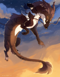 Firelit Sky by Singarl