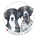 Connor and Harley | Commission by Singarl
