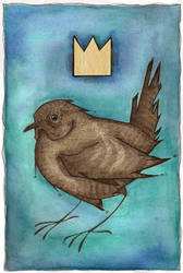 The Wren King by glass-candy