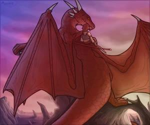 Arokh and Rynn by Chromamancer