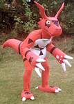 Guilmon Costume 2 by Chromamancer