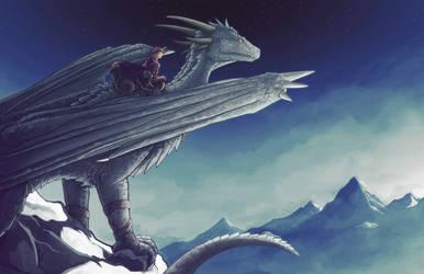 Winter Flight by Chromamancer