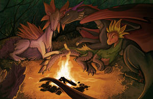 Bonfire by Chromamancer