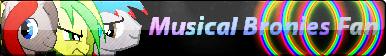 Musical Bronies Button - WT, MM, LT