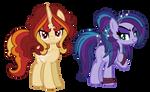 REDESIGNS: Dazzling Ponies