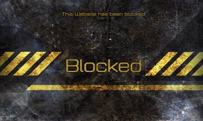 Blocked web page by pottmash