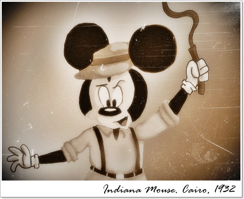 Indiana Mouse by FelipePassos
