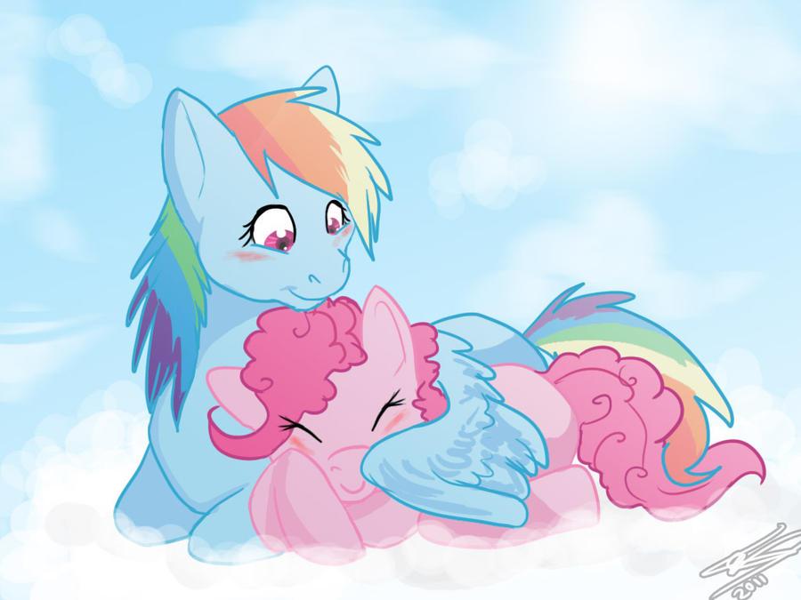 RainbowxPinkie