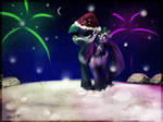my first xmas at ponyville