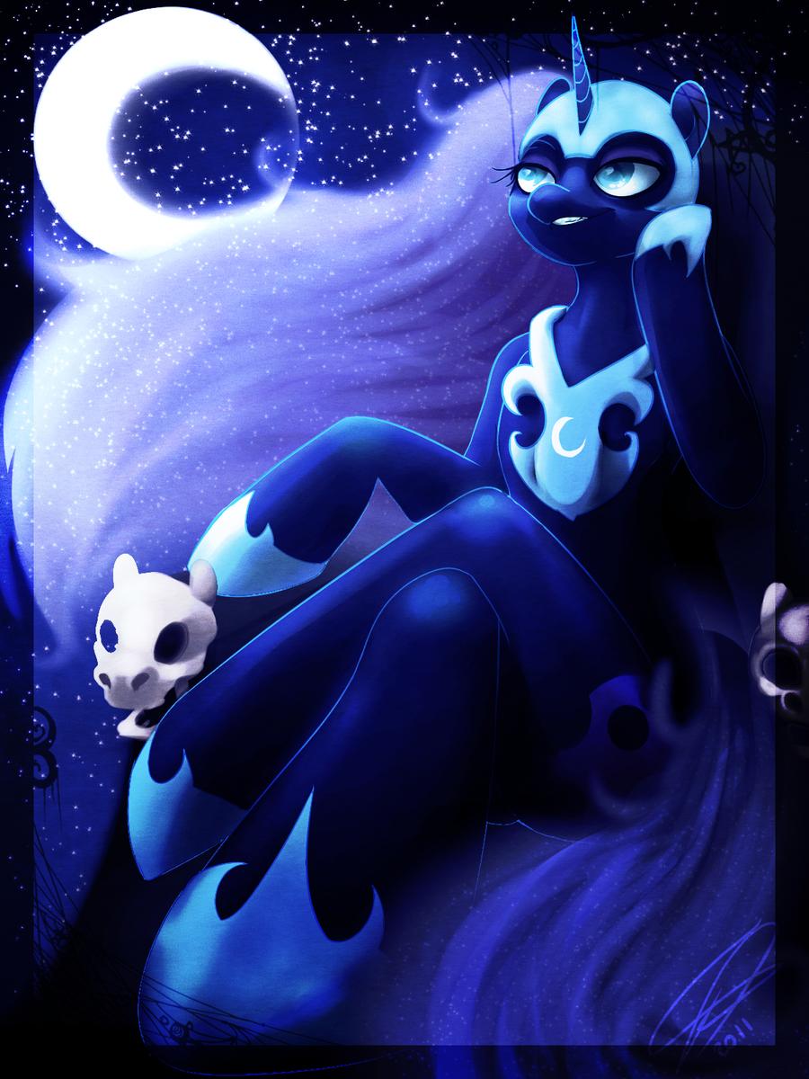 Princess Luna - My Little Pony Fan Labor Wiki   Nightmare Moon Moon