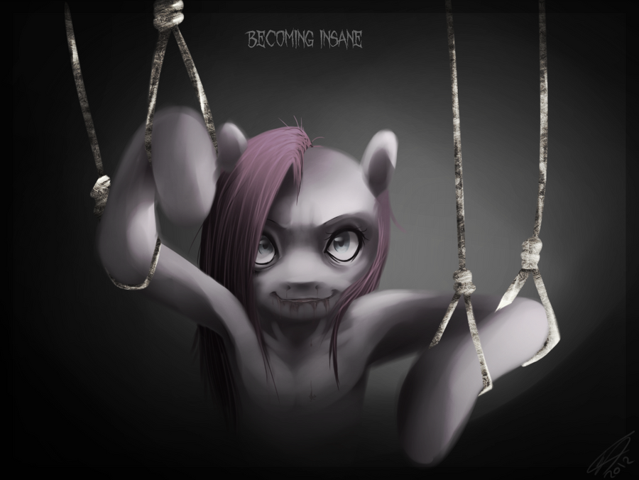 Becoming insane by Imalou