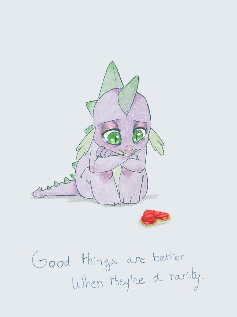 Good things are better when they're a rarity by Imalou