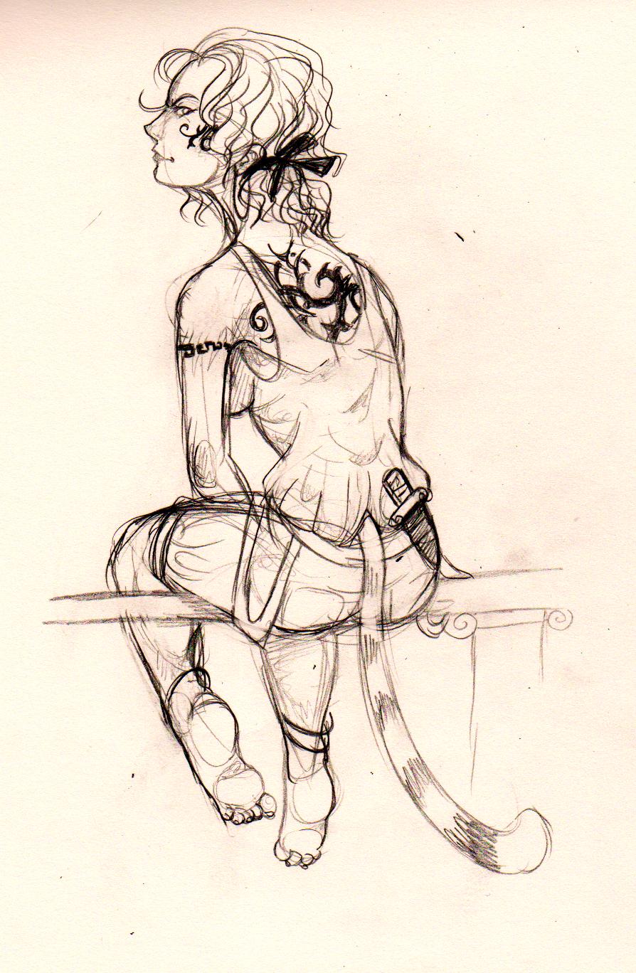 Human anatomy practice #1 by Imalou