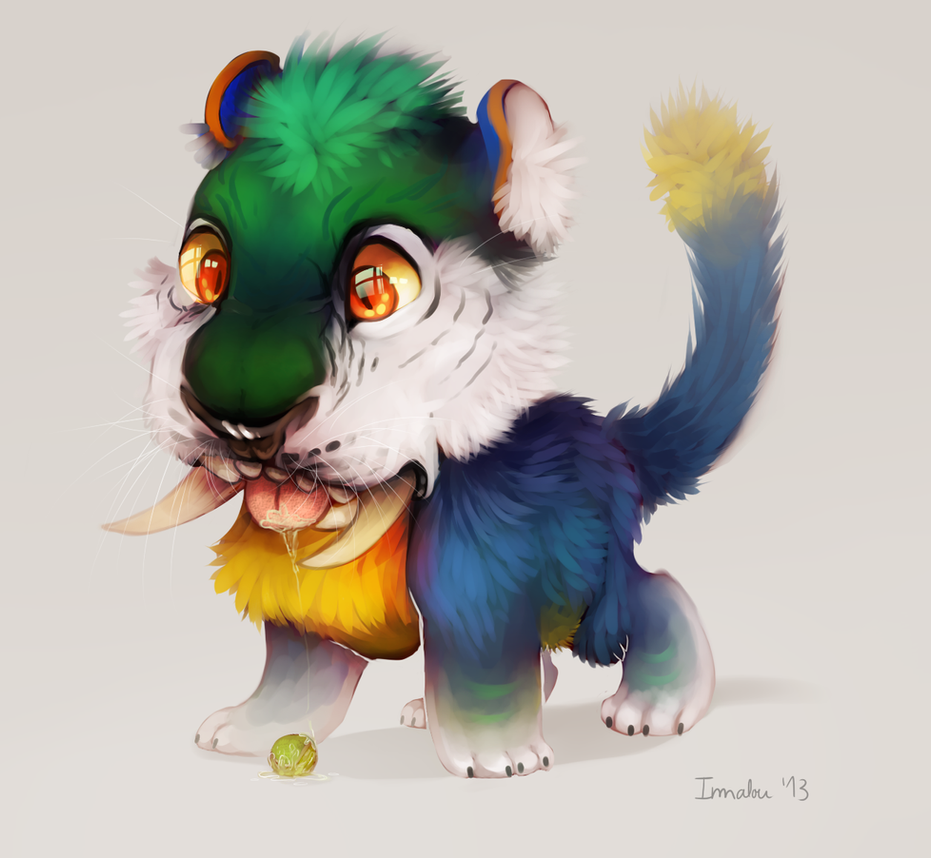 Macawnivore by Imalou on DeviantArt