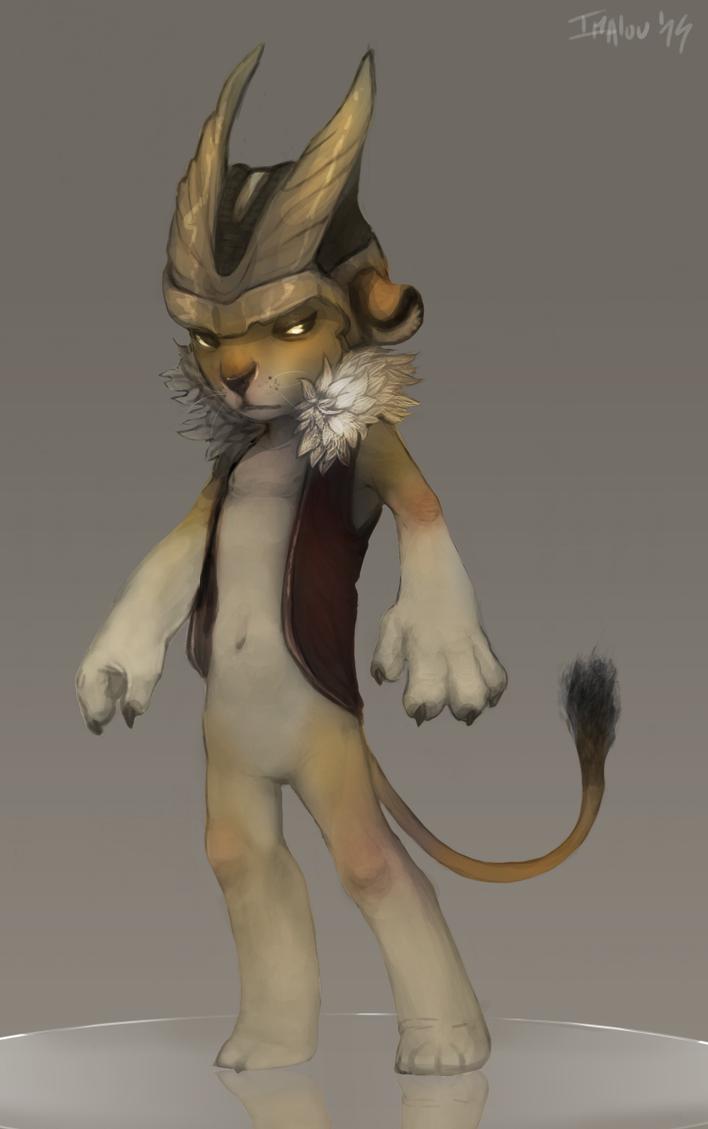 Concept art : LionHeart by Imalou