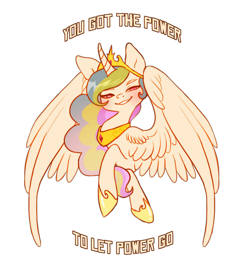 You got the power to let power go by Imalou