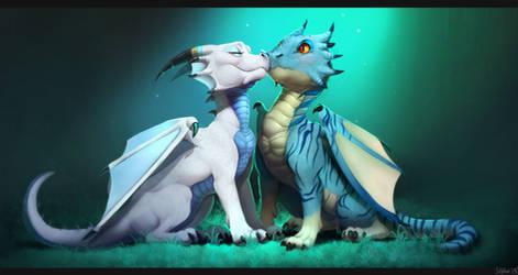 Dragon Love by Imalou
