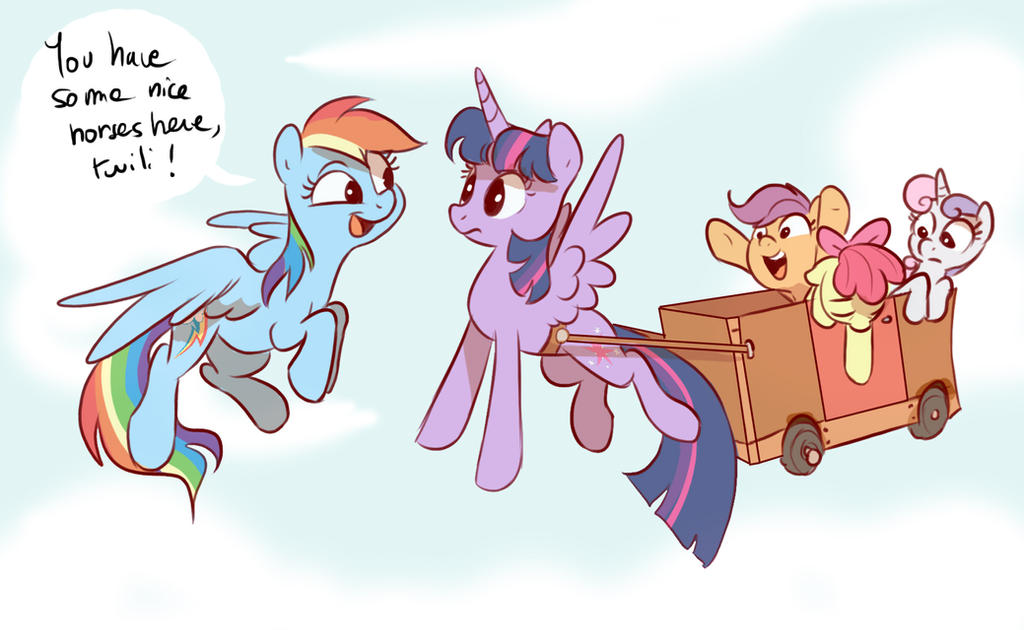 Nice horses by Imalou