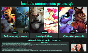 Commission Prices by Imalou