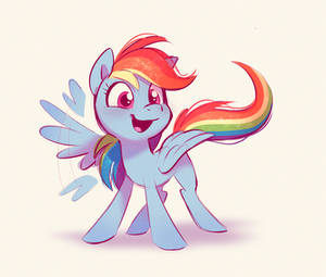Rainbow Dash being cute GONE WRONG