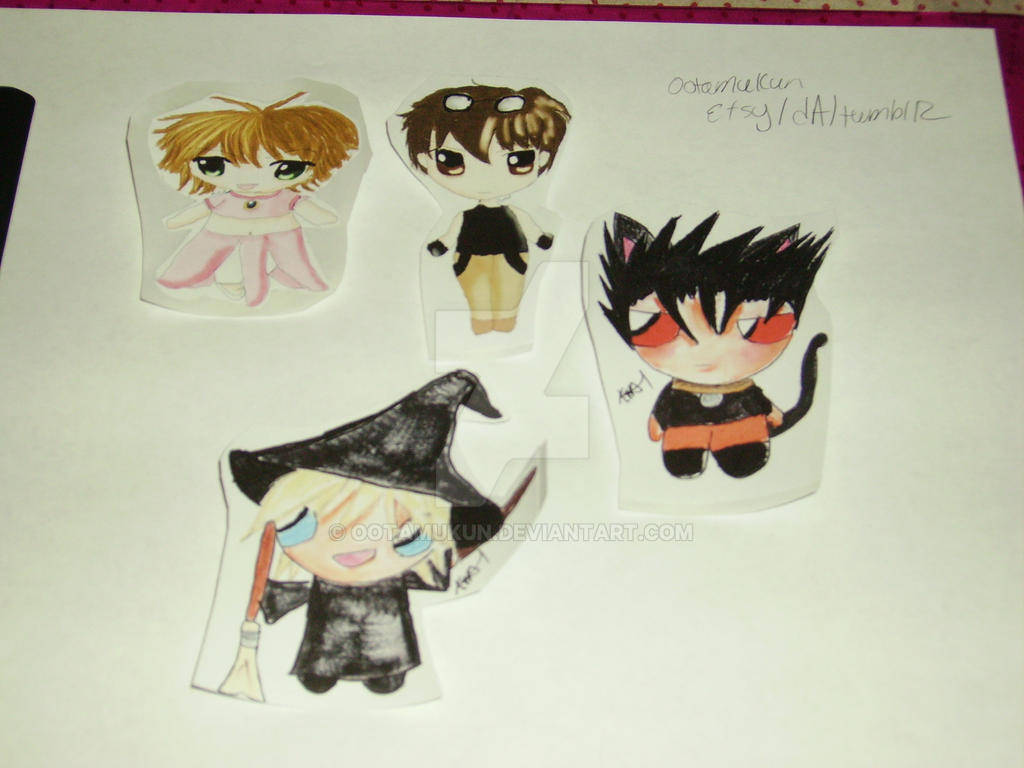 Tsubasa Reservoir Chronicle Stickers for sale! by ootamukun