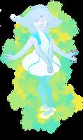 Larimar (turquoise + diamond)