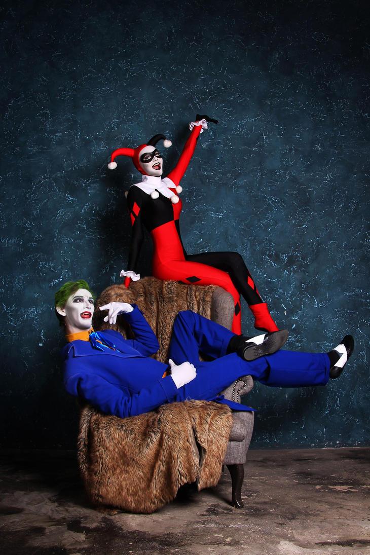 Harley and Joker by Zaira555