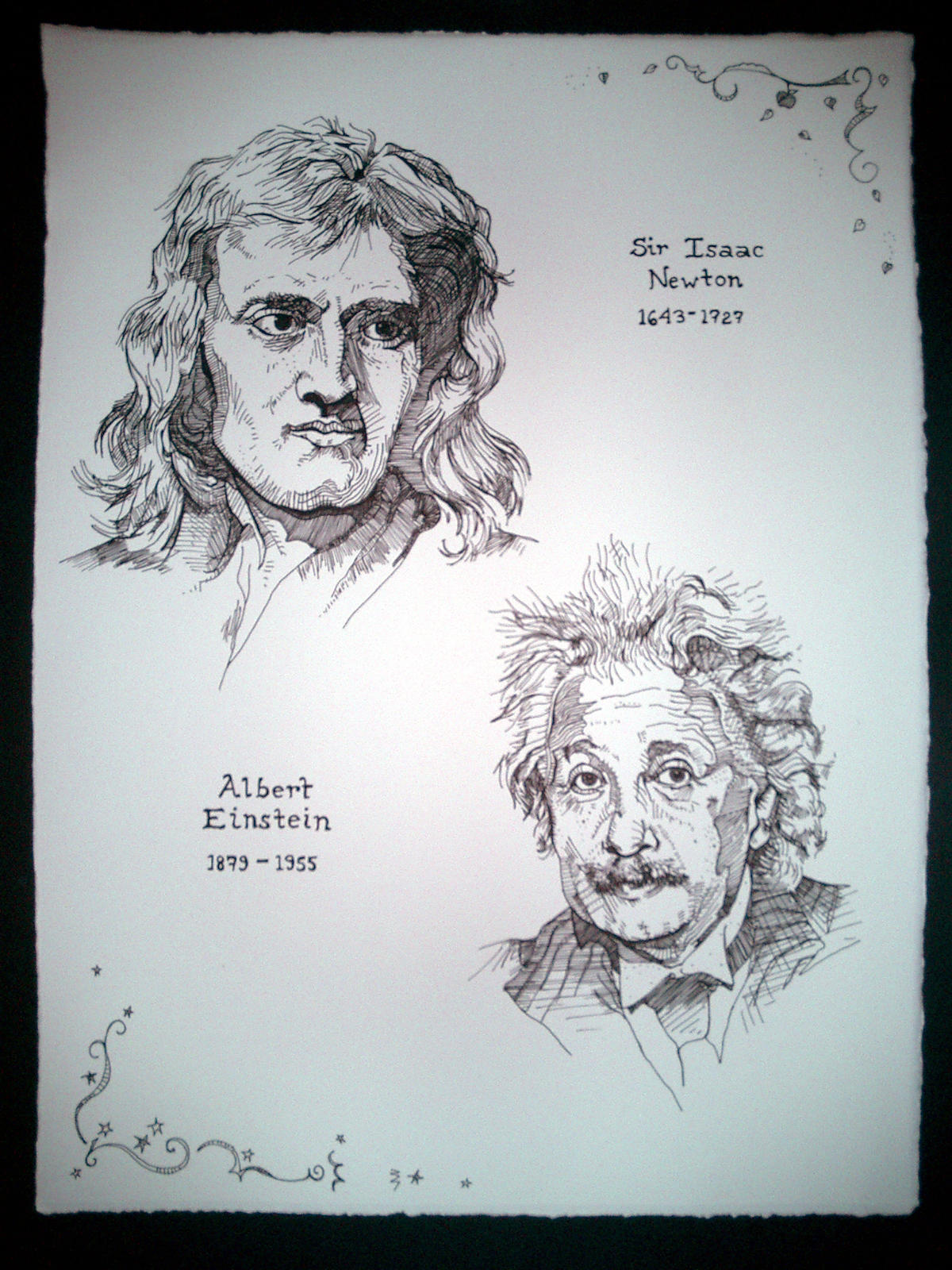 newton vs einstein 2 essay Watch video about albert einstein quotes, essay including videos, 000 other essays 2 page einstein  quotes, newton vs this book list sent a miracle year for kids.
