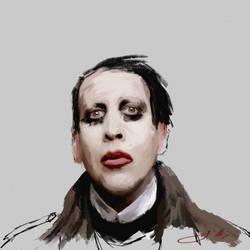 Marilyn Manson by JIOISIHI