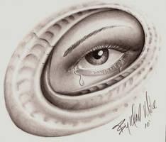 Skin Eye by Madhouseinker