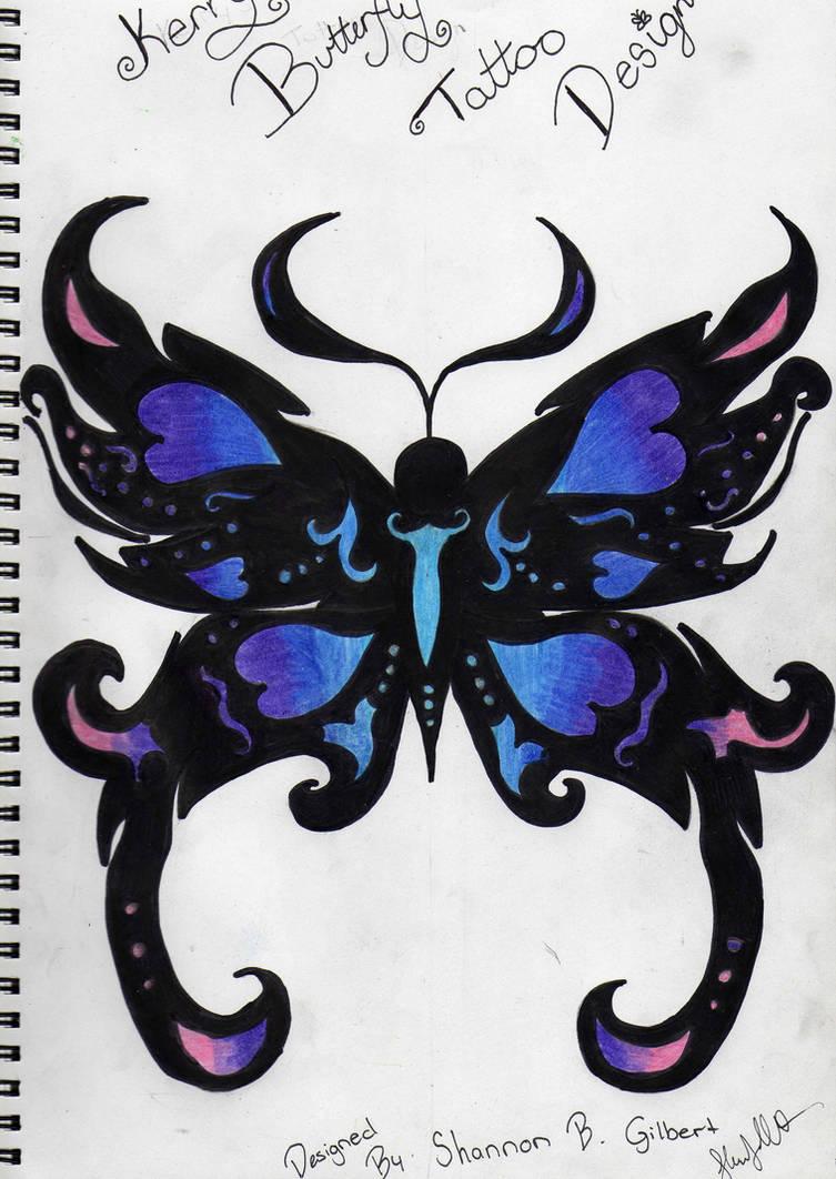 be433de2b Blue ButterFly Tattoo by Sherlock3000 on DeviantArt