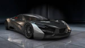 super car concept (3dmodel)