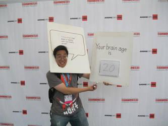 Brain Age result cosplay by onicoursemusha