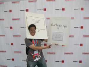 Brain Age result cosplay