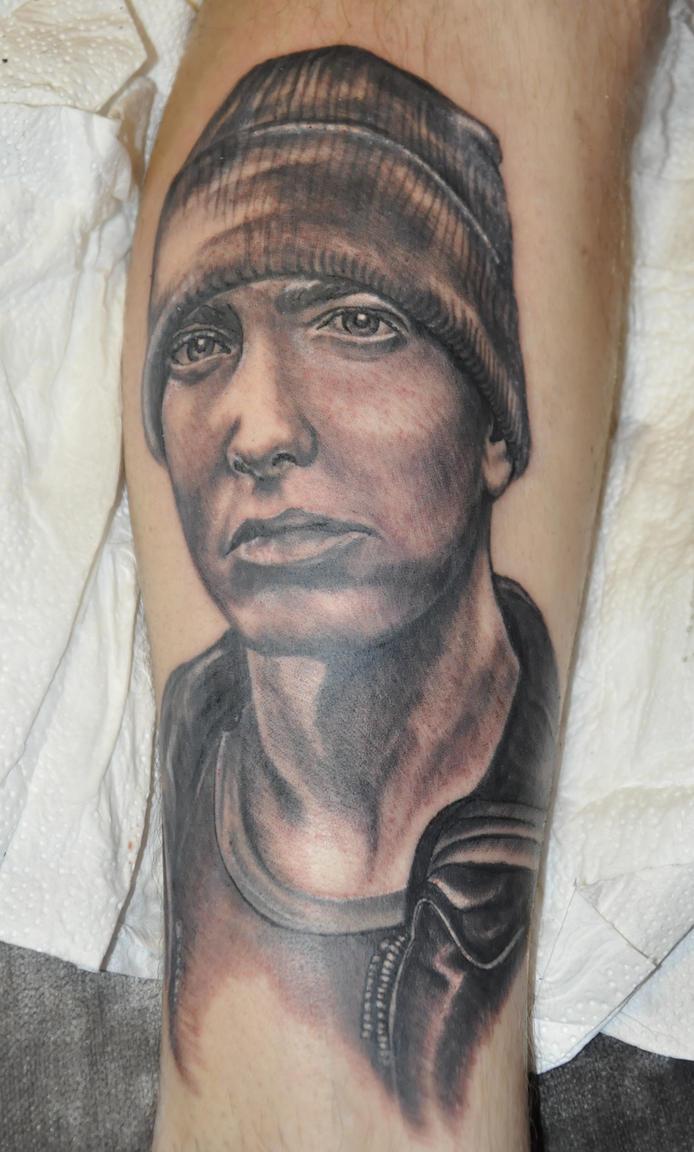 Eminem tattoo by Kiddotattoo on DeviantArt