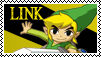 Stamp Toon Link by LUIAR